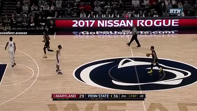 Watch and share Maryland Vs Penn State Basketball 2017 (Feb. 07) GIFs on Gfycat