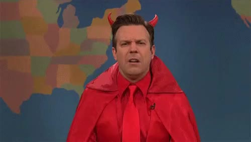 Watch this devil GIF on Gfycat. Discover more devil, jason sudeikis GIFs on Gfycat