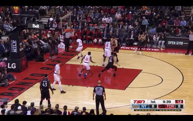 Watch Change of Pace PnR GIF by @louiszatzman on Gfycat. Discover more Toronto Raptors, basketball GIFs on Gfycat