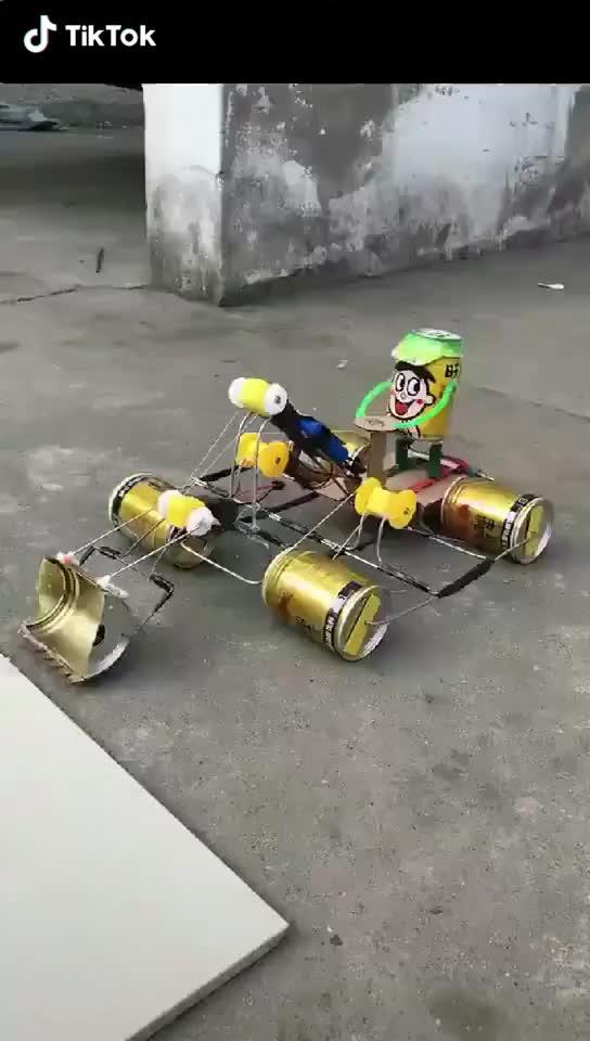 DIY tractor model GIFs
