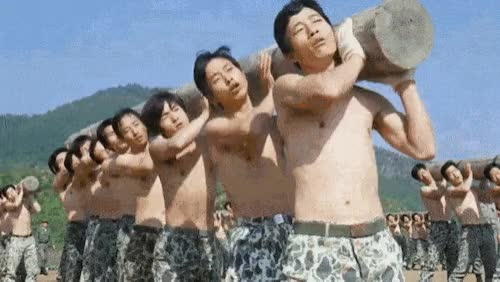 Watch and share  옛날 예비군 수준 ㄷㄷ......gif GIFs by podong on Gfycat