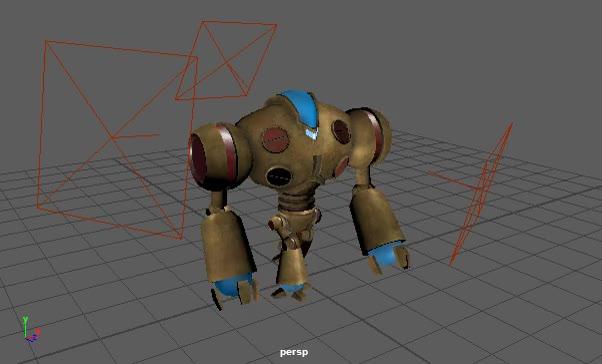 Watch and share Robot Walk Cycle Quick Render GIFs by genaralskar on Gfycat