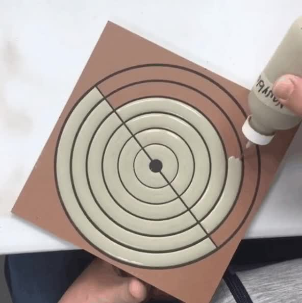 Watch Hand painted tile design. GIF on Gfycat. Discover more related GIFs on Gfycat