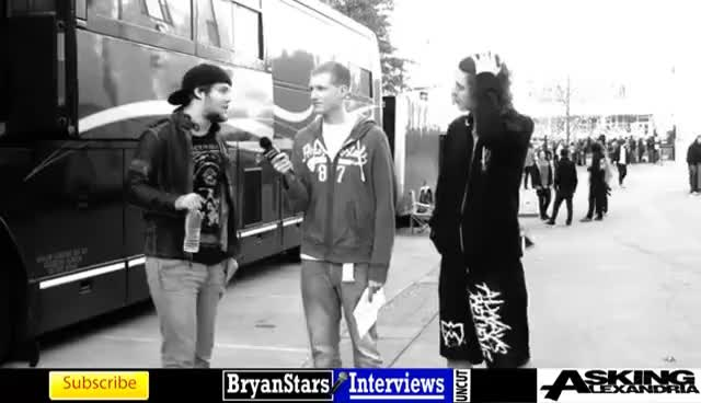 Watch asking alexandria GIF on Gfycat. Discover more ben.danny, funny, slap GIFs on Gfycat