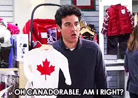 Watch canadian GIF on Gfycat. Discover more josh radnor GIFs on Gfycat