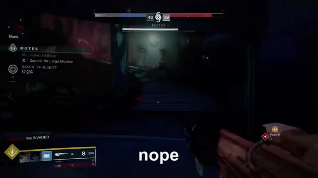 Watch nope nope nope GIF by Gamer DVR (@xboxdvr) on Gfycat. Discover more Destiny2, GunnerGrunt, xbox, xbox dvr, xbox one GIFs on Gfycat