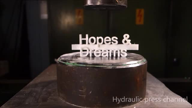 Watch and share Crushing 3d-printed Stuff With Hydraulic Press GIFs by jaalke30 on Gfycat