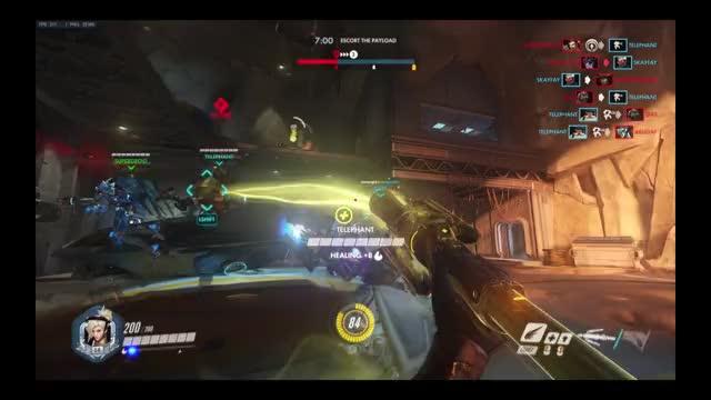 Watch pew pew pew pew GIF by Myrmidia (@myrmidia) on Gfycat. Discover more gaming, mercy, overwatch GIFs on Gfycat
