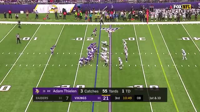 Watch and share Minnesota Vikings GIFs and Oakland Raiders GIFs on Gfycat