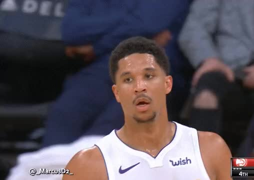 Watch and share Josh Hart, Wants A High Five From Kyle Kuzma. Kuzma Was Not Aware, So Hart Slaps His Own Hand. GIFs by MarcusD on Gfycat