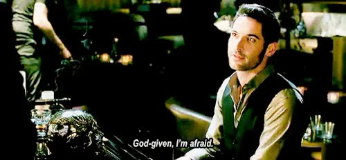 Watch and share Lucifer Morningstar GIFs and Annie Makes Gifs GIFs on Gfycat
