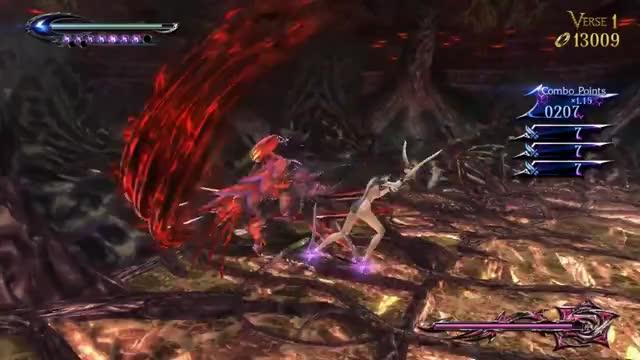 Watch and share Bayonetta 2 - Inferno And Its Ruler: Alraune Full Bossfight Gameplay (Pull Jeanne Free Cutscene) GIFs on Gfycat