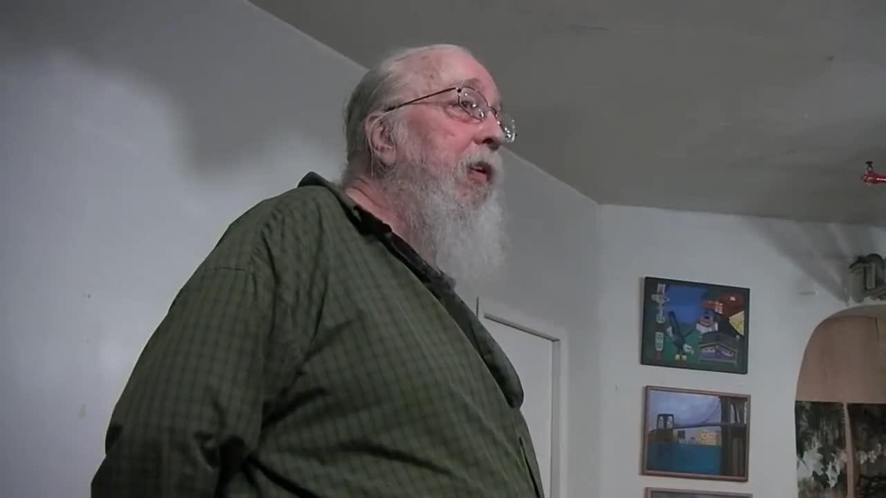 Peter Lamborn Wilson speaks at the Libertarian Book Club #1 GIFs