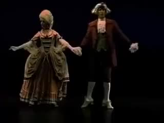 Watch and share Allemande | How To Dance Through Time, Vol. 4 The Elegance Of Baroque Social Dance GIFs on Gfycat