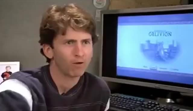 """Watch and share Todd Howard - """"Who's Laughing Now?"""" GIFs on Gfycat"""