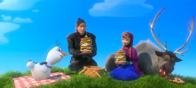 Watch and share Sven The Reindeer GIFs and Princess Anna GIFs on Gfycat