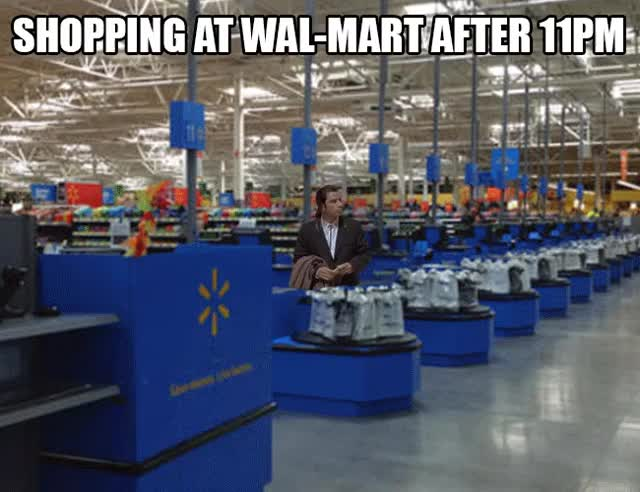 Watch Pretty much the Walmart experience... GIF on Gfycat. Discover more related GIFs on Gfycat