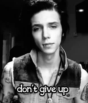 Watch and share Andy Biersack, Andy Sixx, Black Veil Brides, Gif, Prophet, Savior GIFs on Gfycat