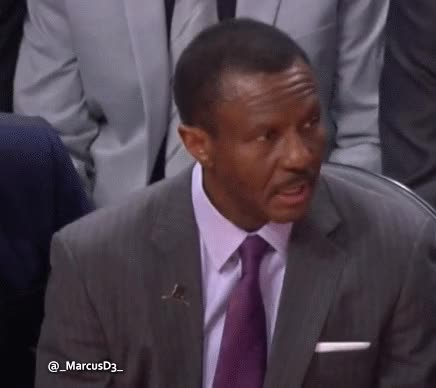 Watch and share Dwane Casey Play Call Not Sure What It Is Reaction GIFs by MarcusD on Gfycat