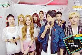 Watch BESTie and MYNAME x BackstageInterview150525 GIF on Gfycat. Discover more .gif, Haeryeong, JunKyu, Seyong, basically just me thinking hae and muscle man look cute together..., bestie, chaejin, dahye, gunwoo, haeryung, hyeyeon, insoo, junq, myname, uji, yuji GIFs on Gfycat