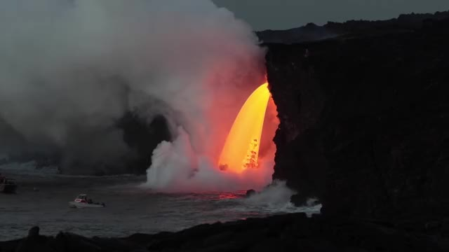 Watch and share Lava Eruption GIFs and Lava Flow GIFs by Jackson3OH3 on Gfycat