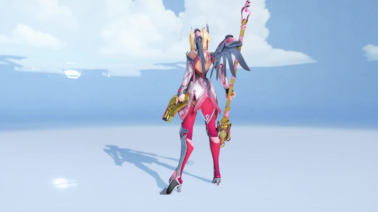 ▷ [Overwatch] Pink Mercy Wut GIF by xyanyde - Find