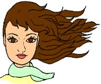 Watch and share Cabellera Movida Por El Viento. Gif Animado GIFs on Gfycat