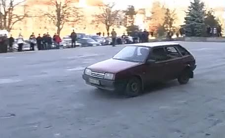 Watch and share Spetsnaz Vs Voiture Russe GIFs on Gfycat
