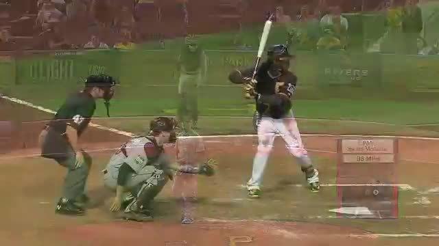 baseballgifs, Andrew McCutchen 2B to RCF GIFs