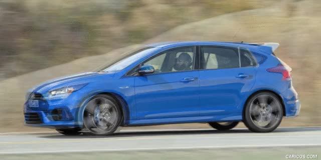 Watch and share Ford Focus RS Vs. VW Golf R : Side [GIF Animation] GIFs on Gfycat