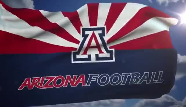 Watch and share Arizona Football GIFs and Flag GIFs on Gfycat