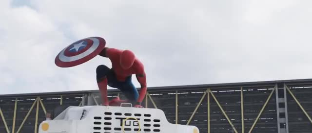 Watch and share Captain America Civil War GIFs and Spiderman GIFs on Gfycat