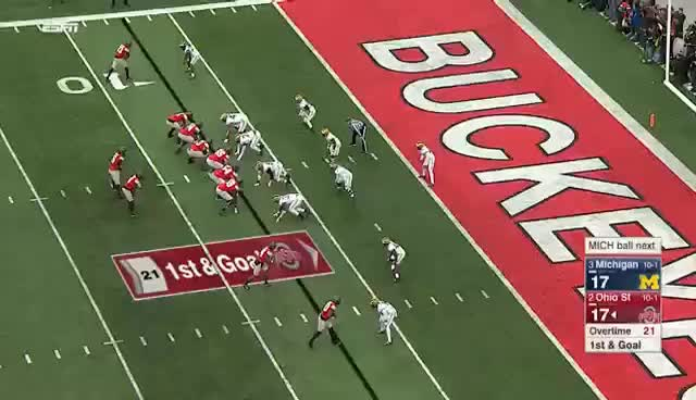 Watch and share JT Barrett's 100th Career TD GIFs on Gfycat