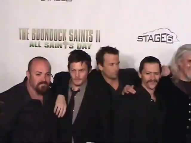 Watch this clifton collins jr GIF by Norman-Freak89 (@norman-freak89) on Gfycat. Discover more all saints day, billy connolly, boondock saints, clifton collins jr, clifton collins jr., julie benz, norman reedus, red carpet, sean patricky flanery, slash, troy duffy GIFs on Gfycat