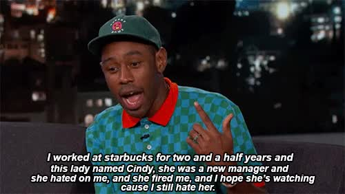 Watch and share Tyler The Creator GIFs and Hate GIFs on Gfycat