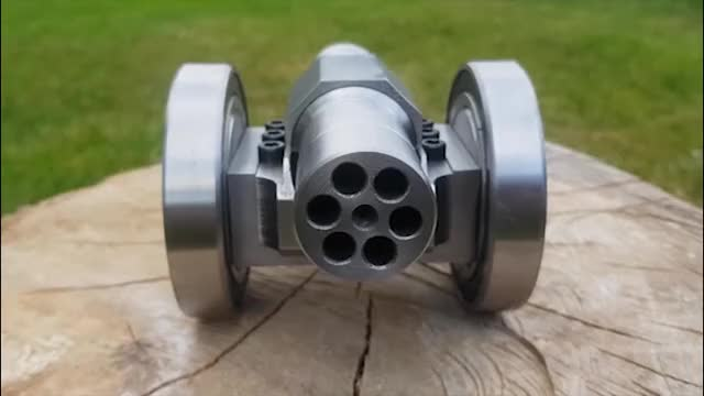 Mini cannon 9mm gif GIF by (@skydiver) | Find, Make & Share Gfycat GIFs