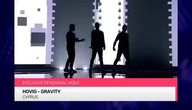 Watch and share Hovig - Gravity (Cyprus) EXCLUSIVE Rehearsal Footage GIFs on Gfycat
