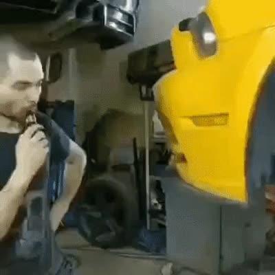Watch and share Brake Duct Smoke GIFs on Gfycat