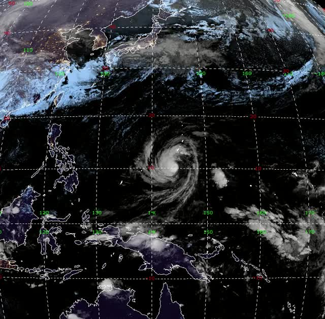 """Watch and share Typhoon """"Wutip"""" February 22, 23, 24, 2019 GIFs by The Watchers on Gfycat"""