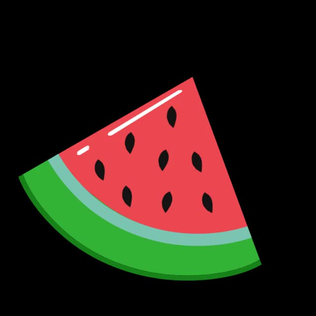 Watch and share Watermelon GIFs by Animated Stickers on Gfycat