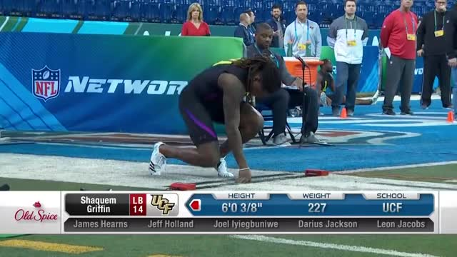 Watch Shaquem Griffin runs an unofficial 4.38 40-yard dash GIF by PM_ME_STEAM_K3YS (@pmmesteamk3ys) on Gfycat. Discover more Football, NFL GIFs on Gfycat