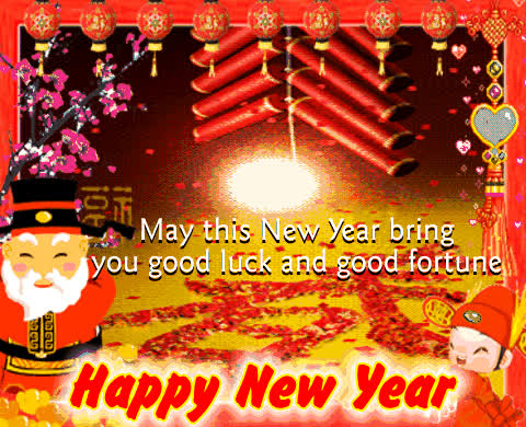 chinese new year, lunar new year, Happy Chinese new year Animated GIFs