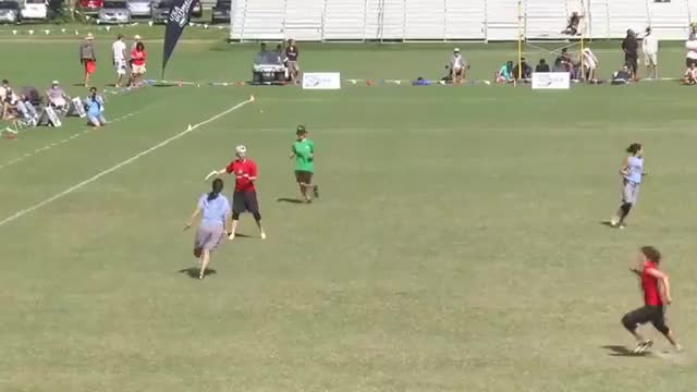 Watch and share Calise Cardenas Athletic Catch - 2012 USAU Nationals Finals GIFs by robpg on Gfycat