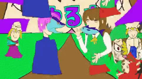 Watch Touhou Chen GIF on Gfycat. Discover more related GIFs on Gfycat