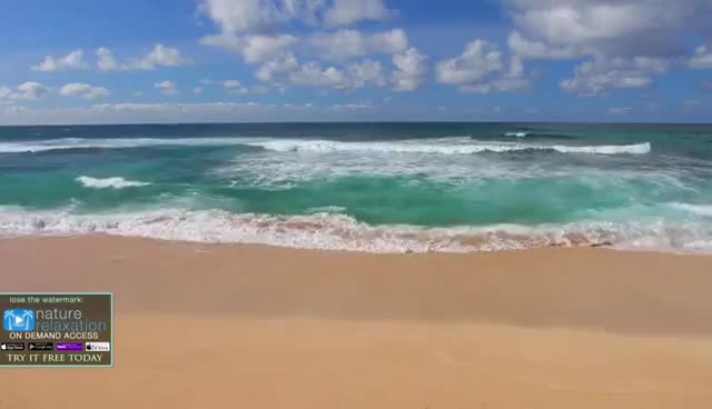 Watch and share HAWAII BEACHES In 4K: Oahu | Nature Relaxation™ Dynamic 90 Min Video UHD GIFs on Gfycat