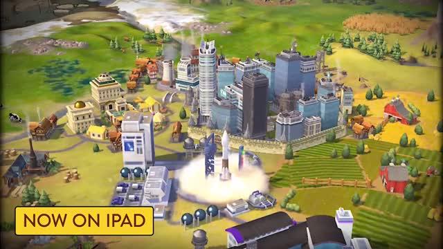 Civilization VI iPad Launch Trailer GIF by Rocco Supreme