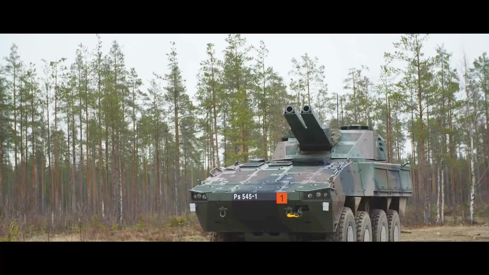 military, Patria - Amos & Nemo 120mm Advanced Mortar Systems [1080p] GIFs