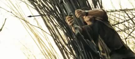 Watch this rambo GIF on Gfycat. Discover more Action, Bow and arrow, Gif, Gifs, Rambo, Rambo 4, Sylvester Stallone, action, bow and arrow, gif, gifs, rambo, rambo 4, sylvester stallone GIFs on Gfycat