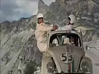 Watch Herbie - The Love Bug (VW-Beetle 1963) GIF on Gfycat. Discover more related GIFs on Gfycat