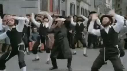 Watch and share Amish Dancers GIFs on Gfycat